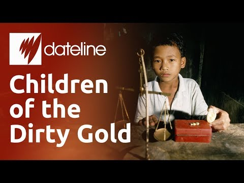 The Children Risking Their Lives Mining Gold