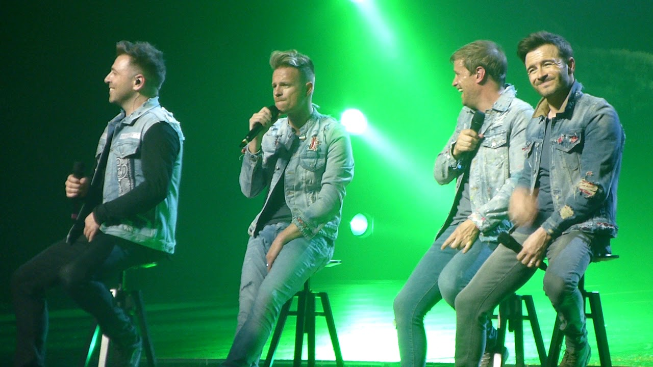 Westlife - Medley of old songs - Twenty Tour 2019 opening night