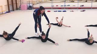 ОФП. Учебно-тренировочные сборы по художественной гимнастике с А. Ермаковой