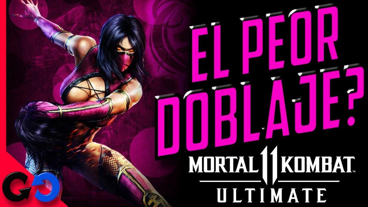 Mortal Kombat 11 Comparación DOBLAJE de MILEENA!! // Cual de las 3 voces en español ha sido MEJOR?