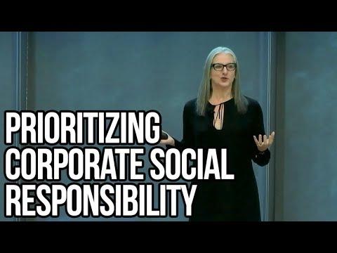 Prioritizing Corporate Social Responsibility | Sarah Kaplan
