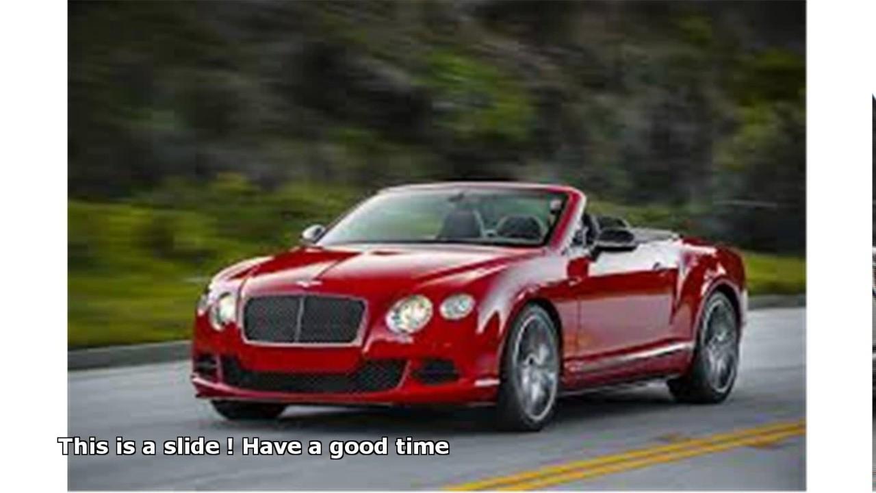 Bentley Drop Top