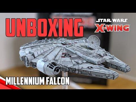 X-Wing 2.0 - Millennium Falcon (YT-1300) Wave 4 Unboxing / Review / Comparison