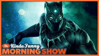 Black Panther Crushed the Box Office! (w/Chastity Vicencio) - Kinda Funny Morning Show 02.19.18