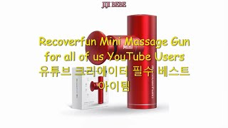 Recoverfun Mini Massage Gun   …
