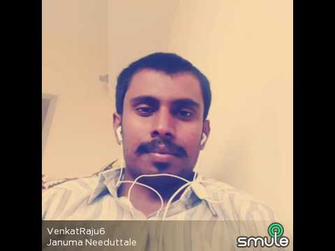 Januma Needuthale Venkat Singing