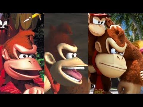 """Donkey Kong """"Jungle Japes"""" song over the years"""