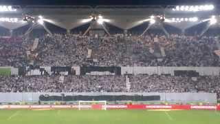 """Legia - Śląsk 1-0 Oprawa - """"Nieznani Sprawcy"""""""