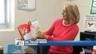 Celebrating Dr. Seuss' Birthday By Reading