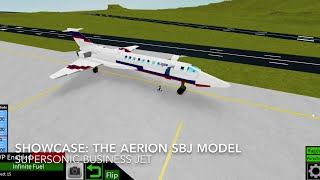 Roblox showcase: The Aerion SBJ Model