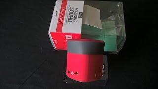 iFrogz Massive Sound Wireless Bluetooth Speaker Unpacking Testing