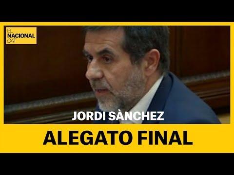 JUICIO PROCÉS | Alegato final de Jordi Sànchez [COMPLETO]