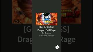 Probando Dragon Ball Rage [ROBLOX]