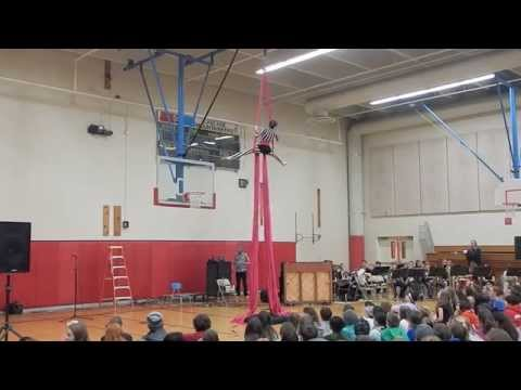 """Grace Performing to """"Carousel"""" - Central Oregon Aerial Arts SILKS"""