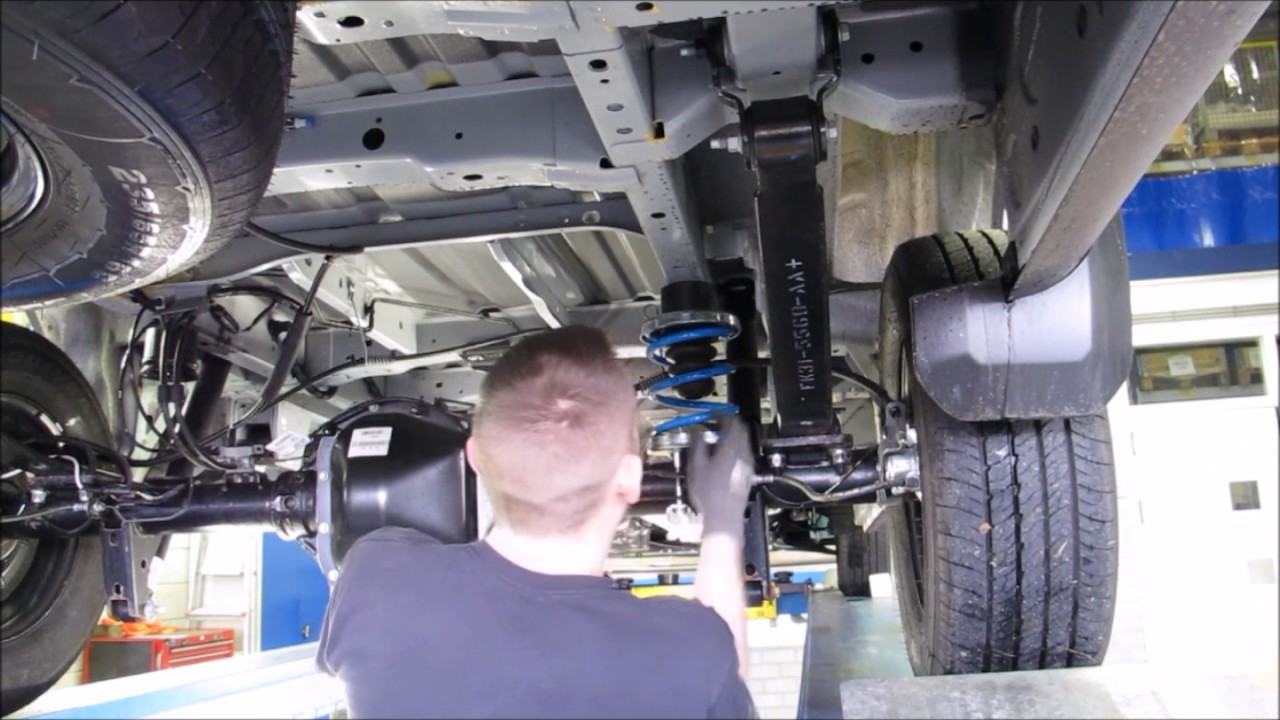 Ford Transit Fitting Helper Springs YouTube