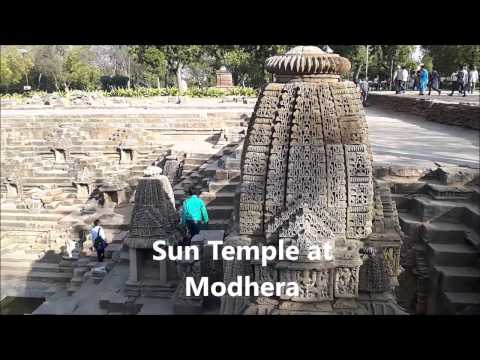 India Vacation Guide Gujarat - rani ki vav, Modhera Sun temple, Champaner