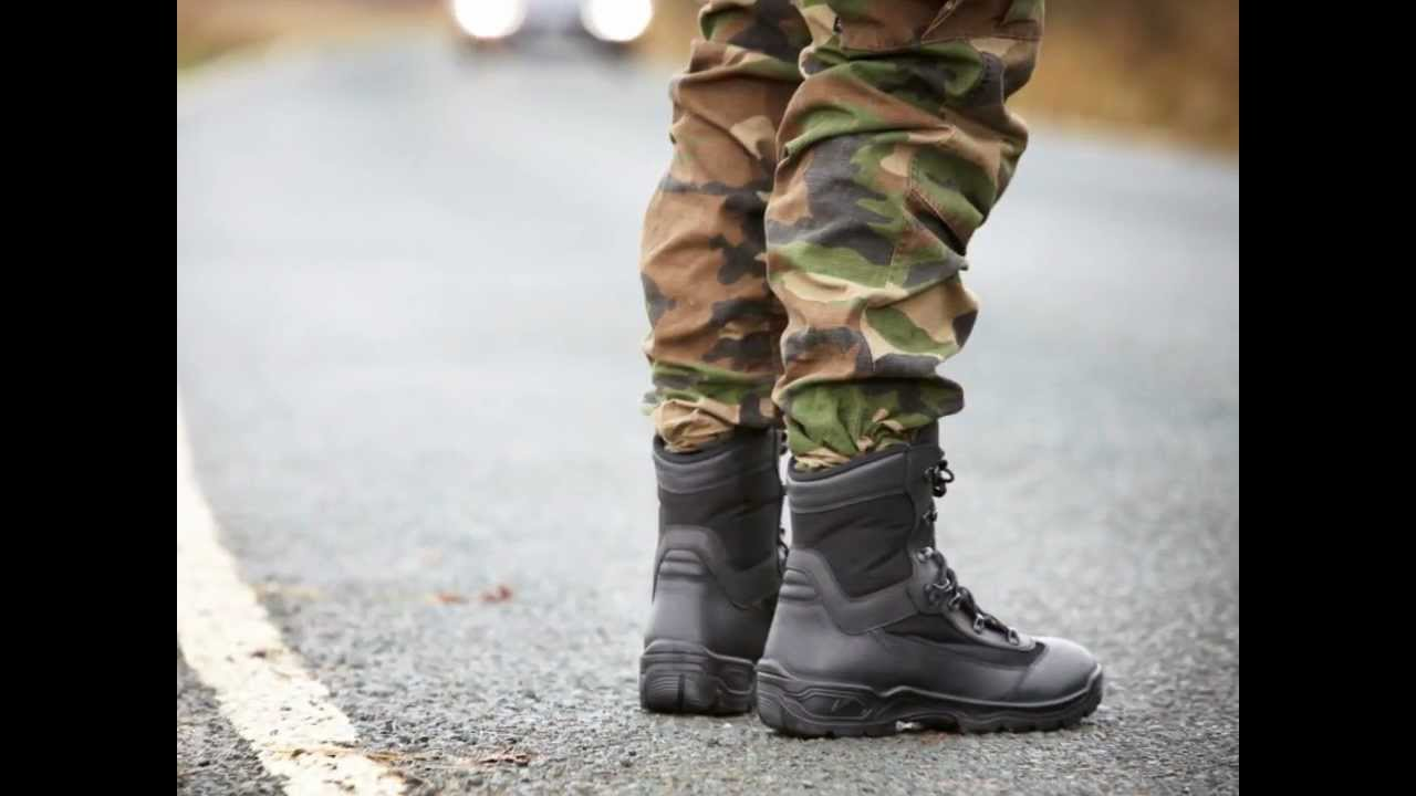 A Glance at YDS Boots - UK Military Range - YouTube