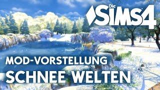 Die Sims 4 Winter Mod | Schnee Welten als Download | First Snow Mod Vorstellung