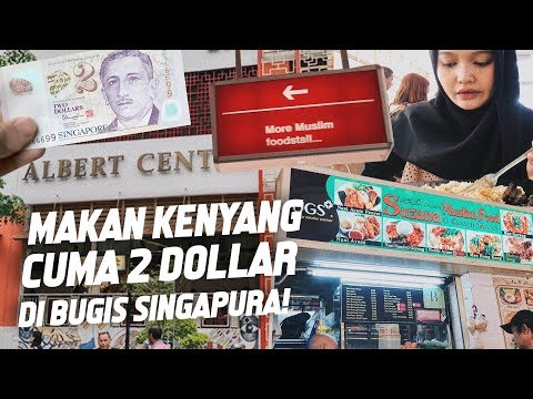 tempat-makan-halal-murah-di-bugis-singapura- -albert-center-singapura