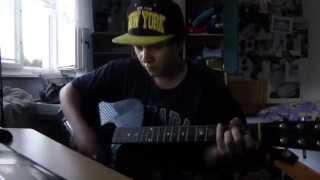 Xindl X V blbým věku cover na akustickou kytaru a zpěv + AKORDY A TEXT na KYTARU (nEscafeX)