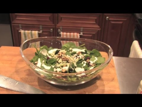 Spinach, Gorgonzola, Cranberry Salad & Walnut Dressing : Different Tastes & Recipes