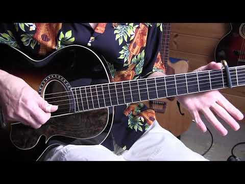 Free Ragtime Guitar Lesson  -  At a Georgia Campmeeting