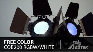Free Color COB200 RGBW/White – Обзор светодиодного прожектора