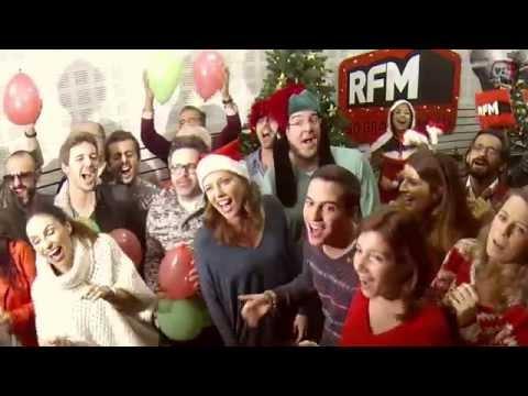 RFM Junta  D.A.M.A., B4, Rui Unas, Nilton, Salvador Martinha Para Divertida E Super Fixe Música De Natal