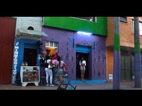 Prostitucion en Bogota Barrrio Santa Fe