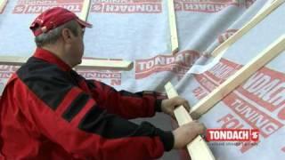 Tondach 1 časť - Priprava strešnej plochy