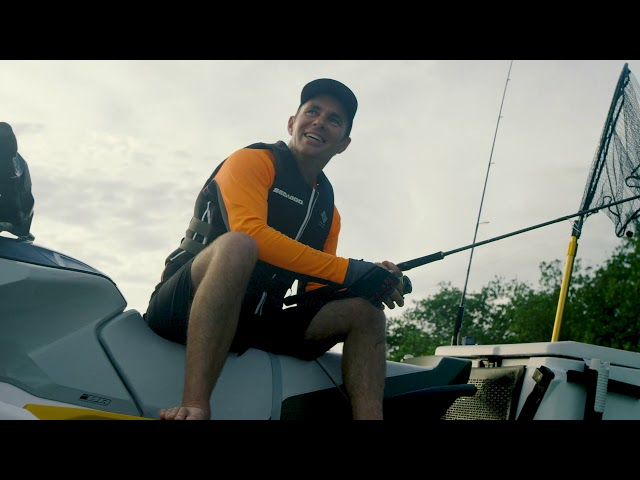 Fishing on the Sea-Doo 2019 FISH PRO