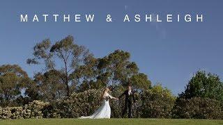 Matthew & Ashleigh // Wedding Highlight Video // Campbelltown Golf Club