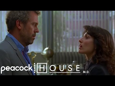 """House - """"ATTENTION I Slept With Lisa Cuddy!!"""" 