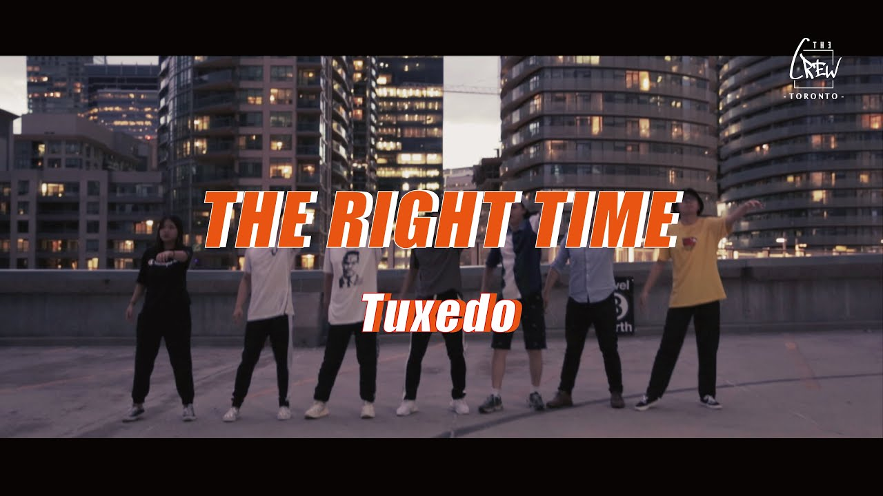 THECREW Presents | The right time - Tuxedo | Popping