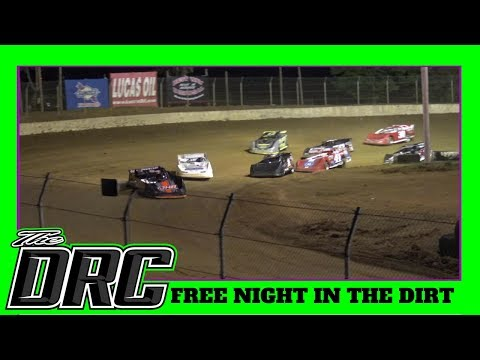 Florence Speedway | 5/12/18 | Crate Late Models | Free Night In The Dirt