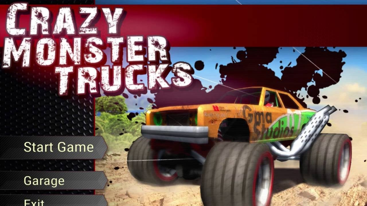 Crazy Monster Trucks Download Free At Gametop Com Youtube