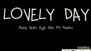 Park Shin Hae Lovely Day