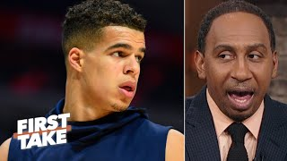 Stephen A. has no faith in Michael Porter Jr. to stay healthy | First Take
