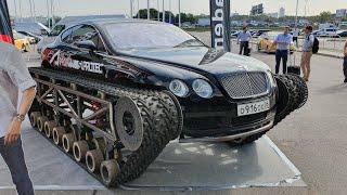 BentleyUltratank увидел вживую на выставке Крокус Сити Холл,впечатления о выставке