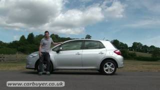Toyota Auris hatchback review 2007 - 2012 -- CarBuyer
