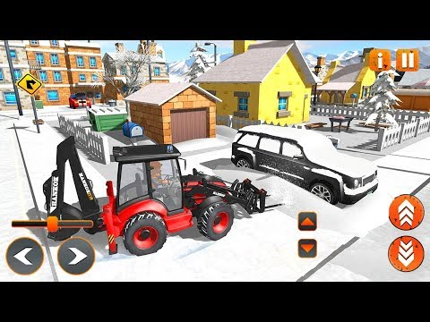 Snow Rescue Excavator (by Games Feast) Android Gameplay [HD]