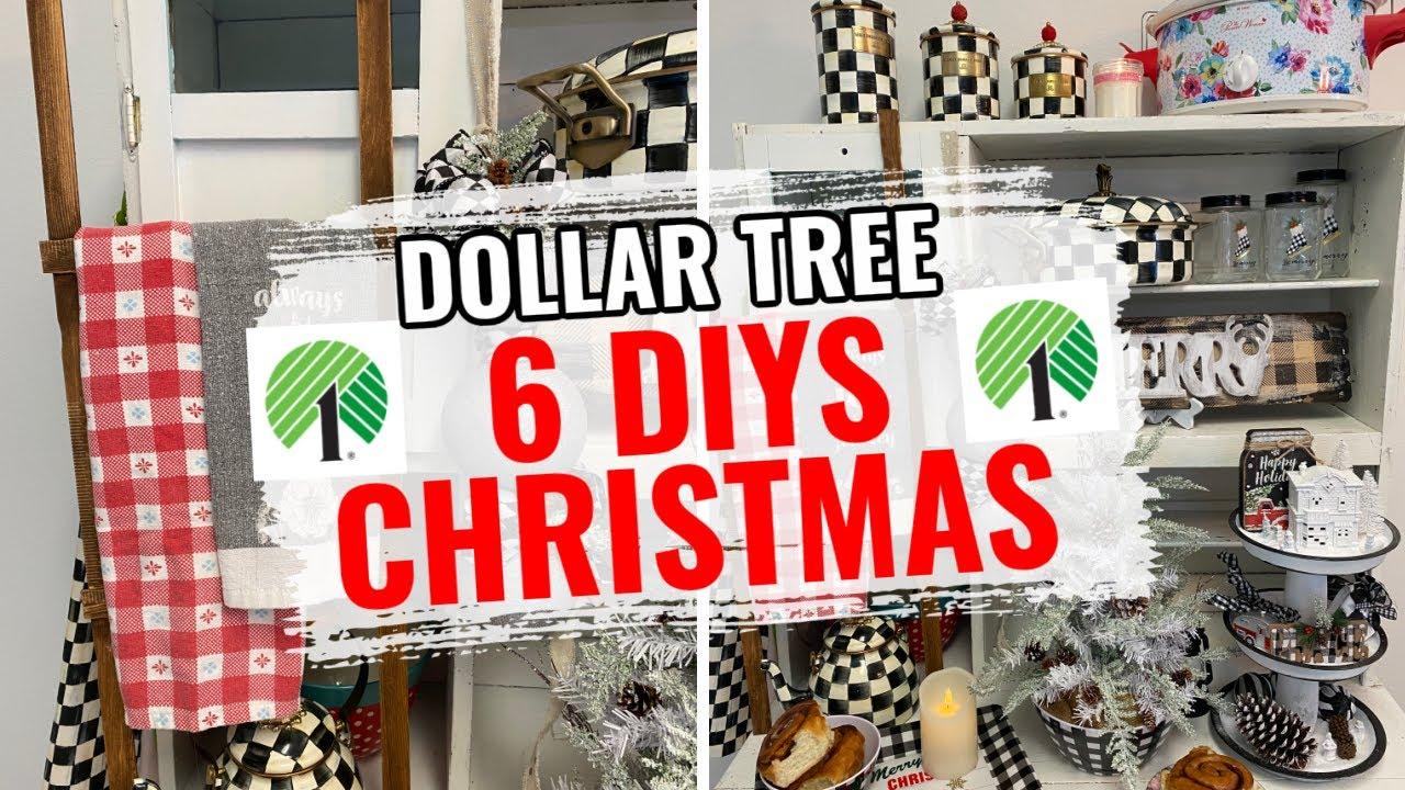 🎄6 DIY DOLLAR TREE HIGH END CHRISTMAS DECOR CRAFTS 🎄I Love Christmas ep 13 Olivia Romantic Home DIY