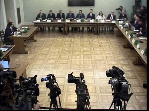 Komisja śledcza Ds. VAT – Przesłuchanie B. Szefa CBA Pawła Wojtunika Cz.1.