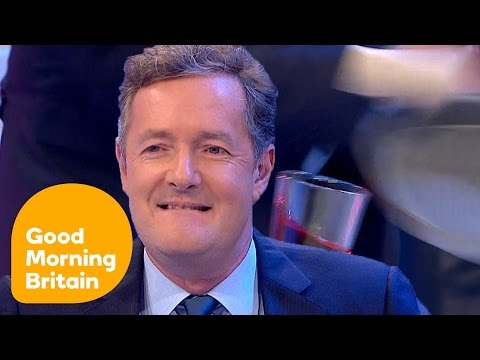Piers Morgan Ruins Ben Miller's Physics Experiment! | Good Morning Britain
