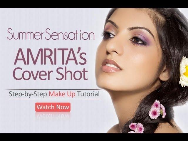 AMRITAs April CoverGirl Look - Expert Makeup Tutorial
