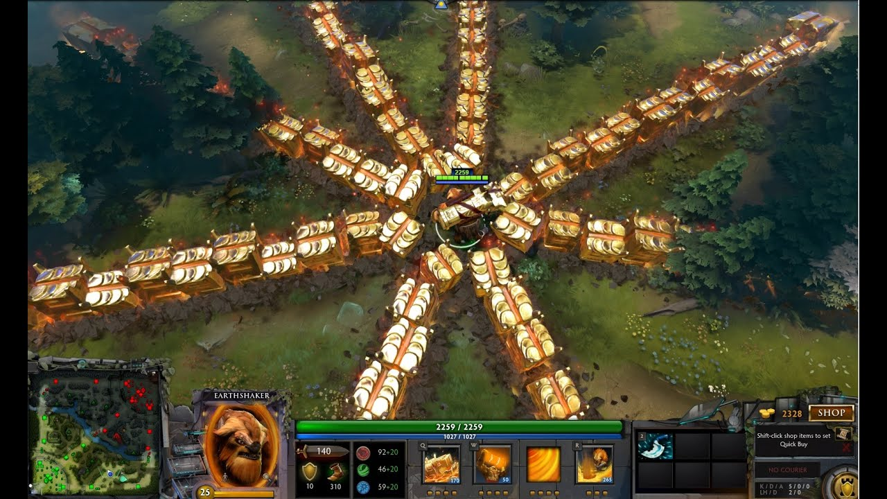 Item Build For Earthshaker Dota