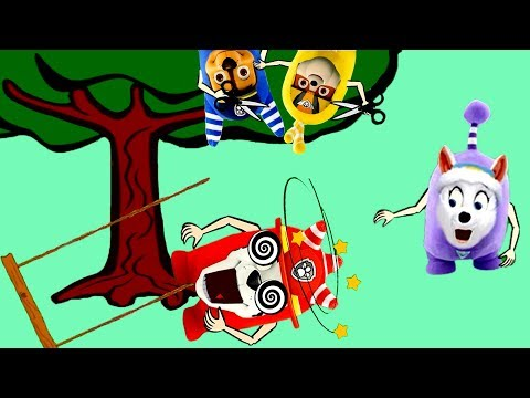 The oddbods show is the best: Marshall plays big tree swing| Cartoon Oddbods Animation Full Episodes