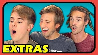 YouTubers React to Try to Watch This Without Laughing or Grinning #3 (Extras #73)