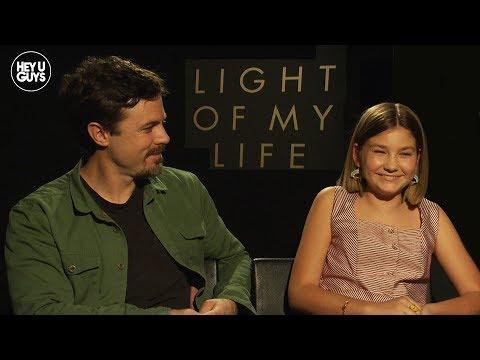 Casey Affleck & Anna Pniowsky Talk Light Of My Life