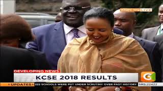 The announcement of KCSE Results 2018 [PART 1]